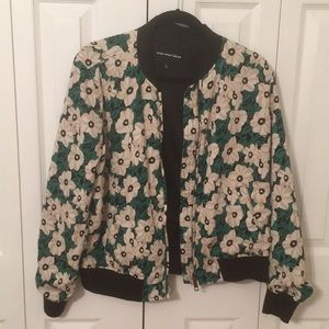Who What Wear Floral Bomber Jacket